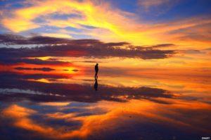 夕日が世界で一番綺麗な場所はウユニ塩湖だった!でも見れなくなるかもしれないってよ。