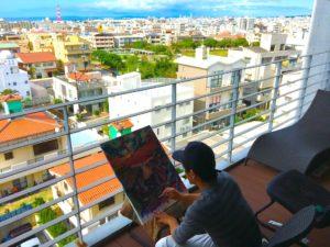 家族3人で沖縄に移住!海が見える高級マンションに住んで感じた事。