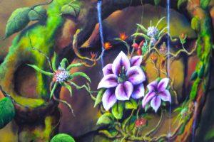 タイの「瞑想」から生まれたZiNの絵画作品。