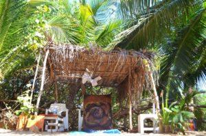 メキシコのビーチ沿にある小さな田舎町マスンテに画家アトリエを作った話。
